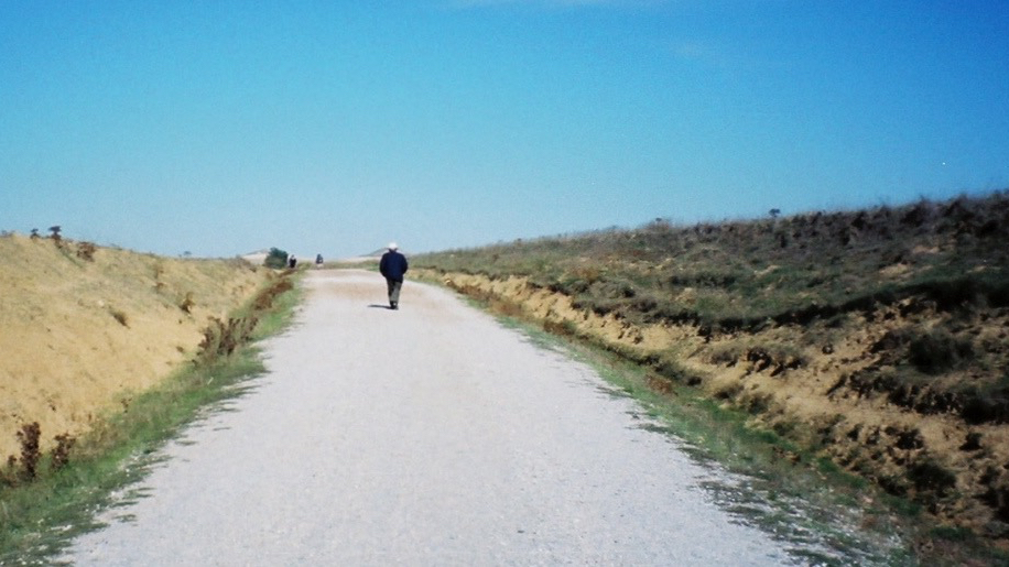 On the Camino somewhere in Castille, Northern Spain